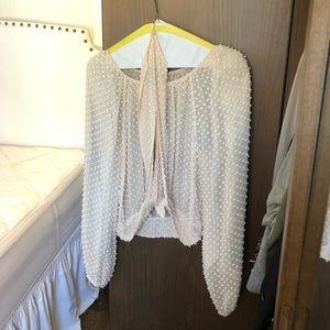 Free People blush blouse
